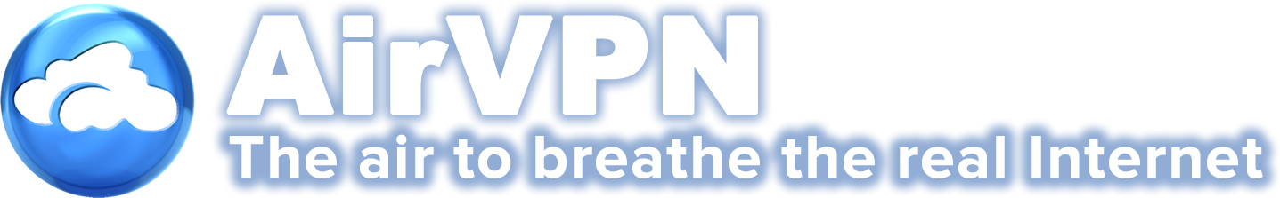 AirVPN - The air to breathe the real Internet