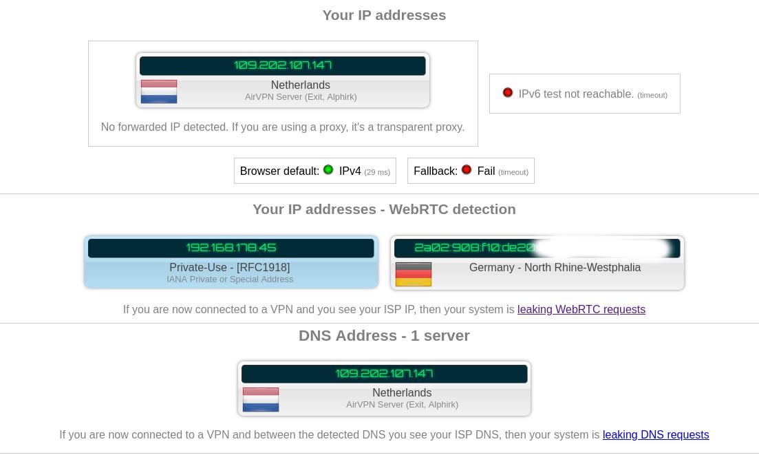 Airvpn arch linux